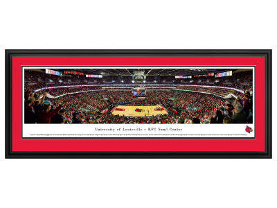 Louisville Cardinals Panoramic Deluxe Framed