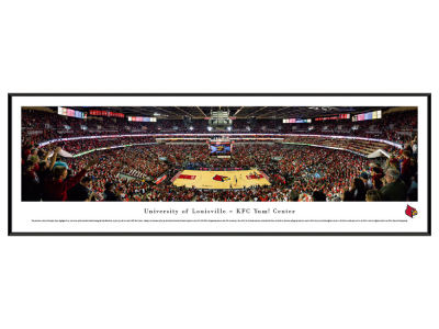 Louisville Cardinals Panoramic Standard Frame