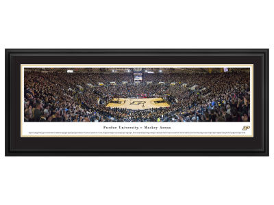 Purdue Boilermakers Evergreen Enterprises Panoramic Deluxe Framed