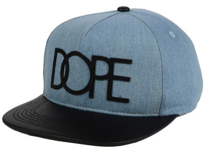 3336305564f Dope Washed Denim Snapback Hat