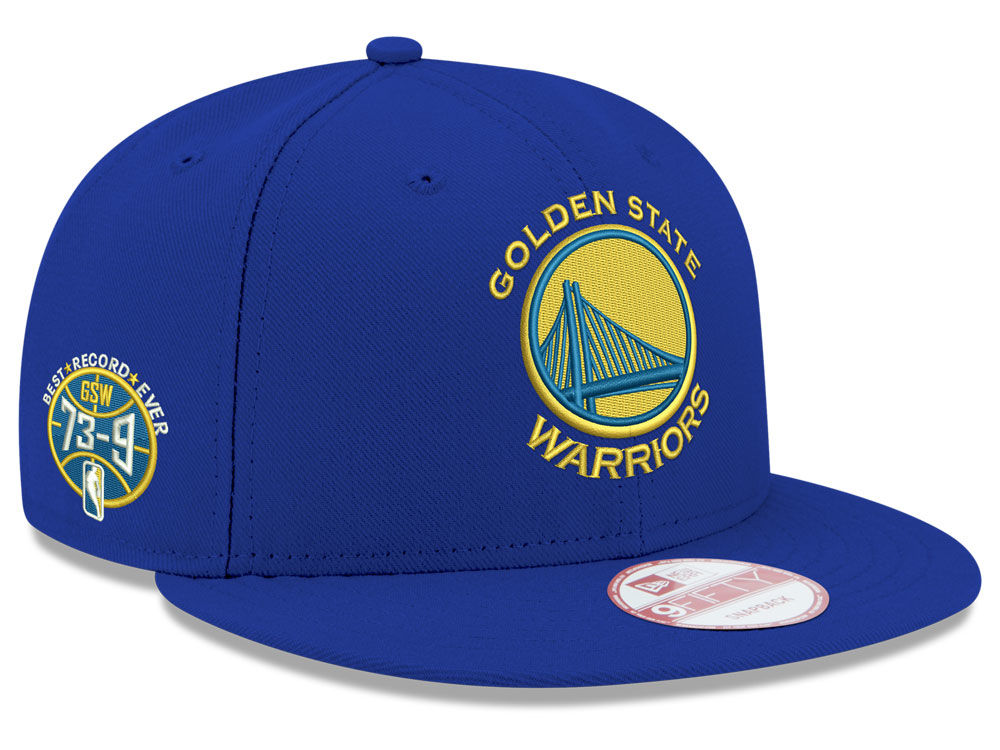 14460257192 Golden State Warriors New Era NBA GSW 73-9 Collection 9FIFTY Snapback Cap