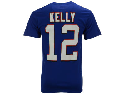 Buffalo Bills Jim Kelly Majestic NFL Men's Hall Of Fame Eligible Receiver III T-Shirt