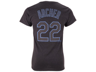 Tampa Bay Rays Chris Archer MLB Men's Platinum Player T-Shirt