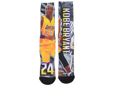 Los Angeles Lakers Kobe Bryant NBA Player Comic Book Socks