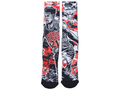 Chicago Bulls Jimmy Butler NBA Player Stamp Pop Socks