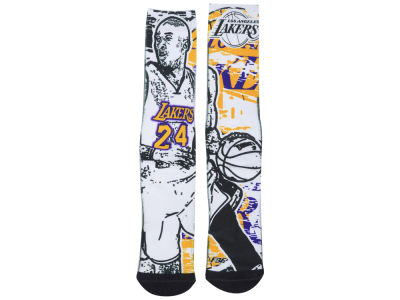 Los Angeles Lakers Kobe Bryant NBA Player Stamp Pop Socks