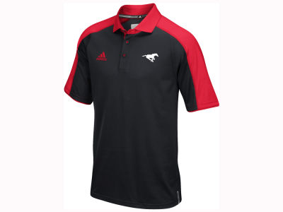 Calgary Stampeders adidas CFL Men's Coaches Polo Shirt