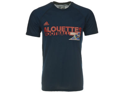 Montreal Alouettes adidas CFL Men's SL Grind Ultimate T-Shirt