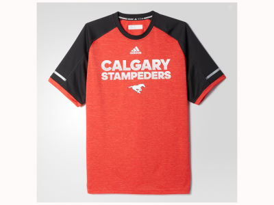 Calgary Stampeders adidas CFL Men's Player Performance T-Shirt