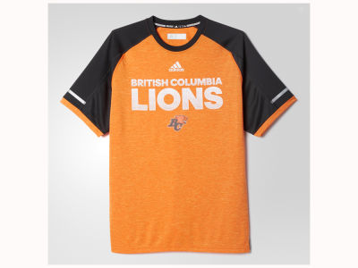 BC Lions adidas CFL Men's Player Performance T-Shirt