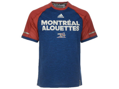 Montreal Alouettes adidas CFL Men's Player Performance T-Shirt