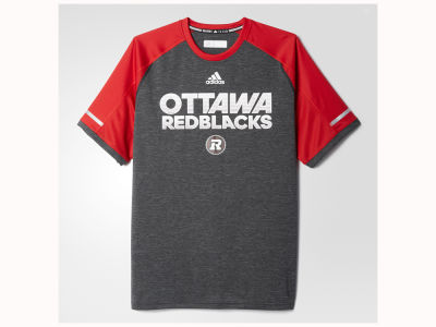 Ottawa RedBlacks adidas CFL Men's Player Performance T-Shirt