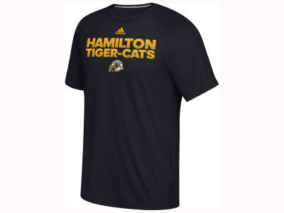 Hamilton Tiger-Cats adidas CFL Men's Player Performance T-Shirt