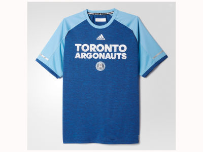 Toronto Argonauts adidas CFL Men's Player Performance T-Shirt