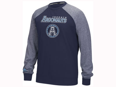 Toronto Argonauts adidas CFL Men's Long Sleeve Raglan Fleece