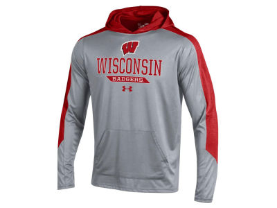 Wisconsin Badgers Under Armour NCAA Men's Foundation Hoodie