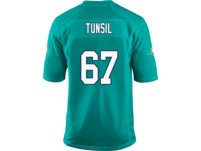 Miami Dolphins Laremy Tunsil Nike NFL Men's Game Jersey