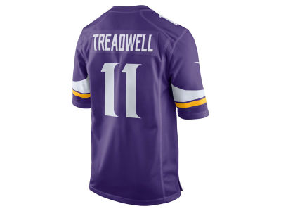 Minnesota Vikings Laquon Treadwell Nike NFL Men's Game Jersey