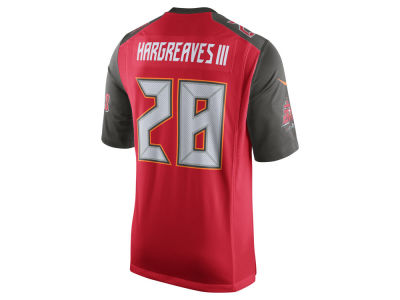 Tampa Bay Buccaneers Vernon Hargreaves III Nike NFL Men's Game Jersey