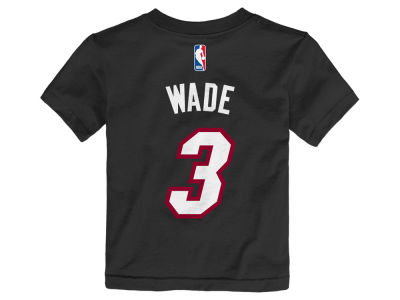 Miami Heat Dwyane Wade NBA Toddler Name And Number T-Shirt