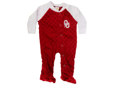 Oklahoma Sooners NCAA Newborn Two-Tone Romper