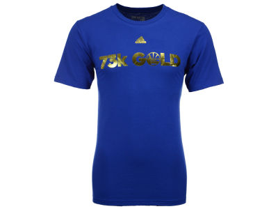 Golden State Warriors adidas NBA Men's 73k Gold T-Shirt
