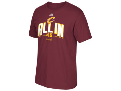 Cleveland Cavaliers adidas NBA Men's Playoff Wear T-Shirt