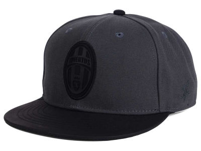 Juventus FI Collection Charcoal Black Snapback Cap