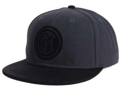Inter Milan FI Collection Charcoal Black Snapback Cap