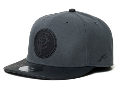 FC Porto Fan Ink FI Collection Charcoal Black Snapback Cap