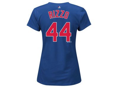 Chicago Cubs Anthony Rizzo Majestic MLB Women's Crew Player T-Shirt