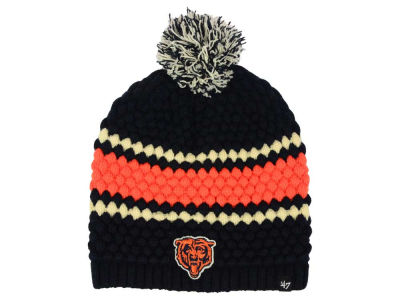 Chicago Bears NFL Women's Leslie Pom Knit