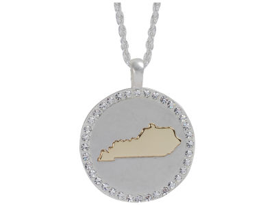 Kentucky Wildcats State Disk Necklace
