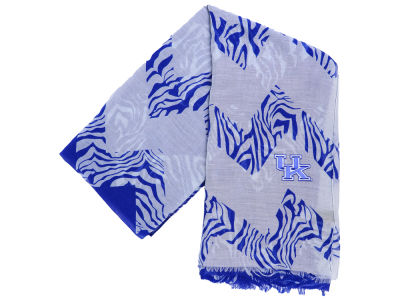 Kentucky Wildcats Chevron Zebra Oblong Scarf