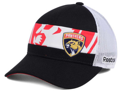 Florida Panthers NHL Dual Logo Mesh Cap