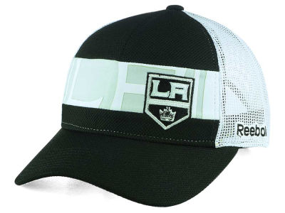 Los Angeles Kings NHL Dual Logo Mesh Cap