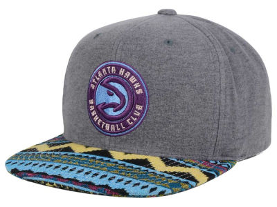 Atlanta Hawks Mitchell and Ness NBA Tribes Snapback Cap