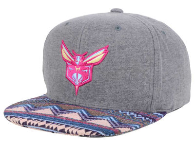 Charlotte Hornets Mitchell and Ness NBA Tribes Snapback Cap