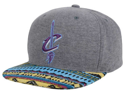 Cleveland Cavaliers Mitchell and Ness NBA Tribes Snapback Cap