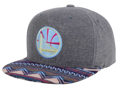 Golden State Warriors Mitchell and Ness NBA Tribes Snapback Cap