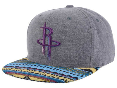 Houston Rockets Mitchell and Ness NBA Tribes Snapback Cap