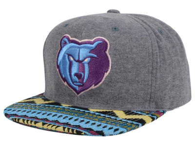 Memphis Grizzlies Mitchell and Ness NBA Tribes Snapback Cap
