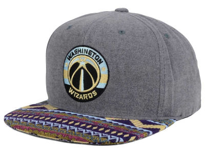 Washington Wizards Mitchell and Ness NBA Tribes Snapback Cap