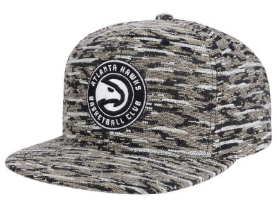 Atlanta Hawks Mitchell and Ness NBA Rugged Snapback Cap