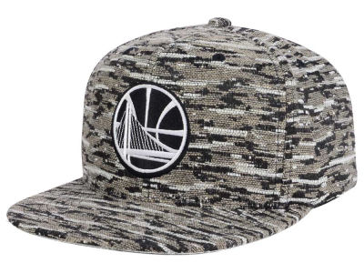 Golden State Warriors Mitchell and Ness NBA Rugged Snapback Cap