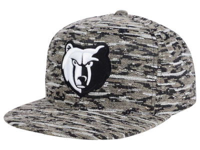 Memphis Grizzlies Mitchell and Ness NBA Rugged Snapback Cap