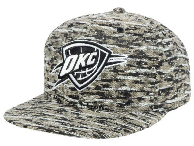 Oklahoma City Thunder Mitchell and Ness NBA Rugged Snapback Cap