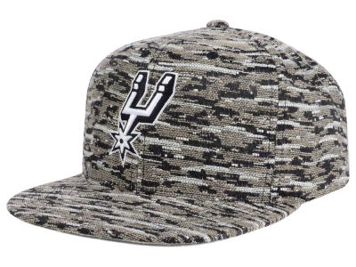 San Antonio Spurs Mitchell and Ness NBA Rugged Snapback Cap