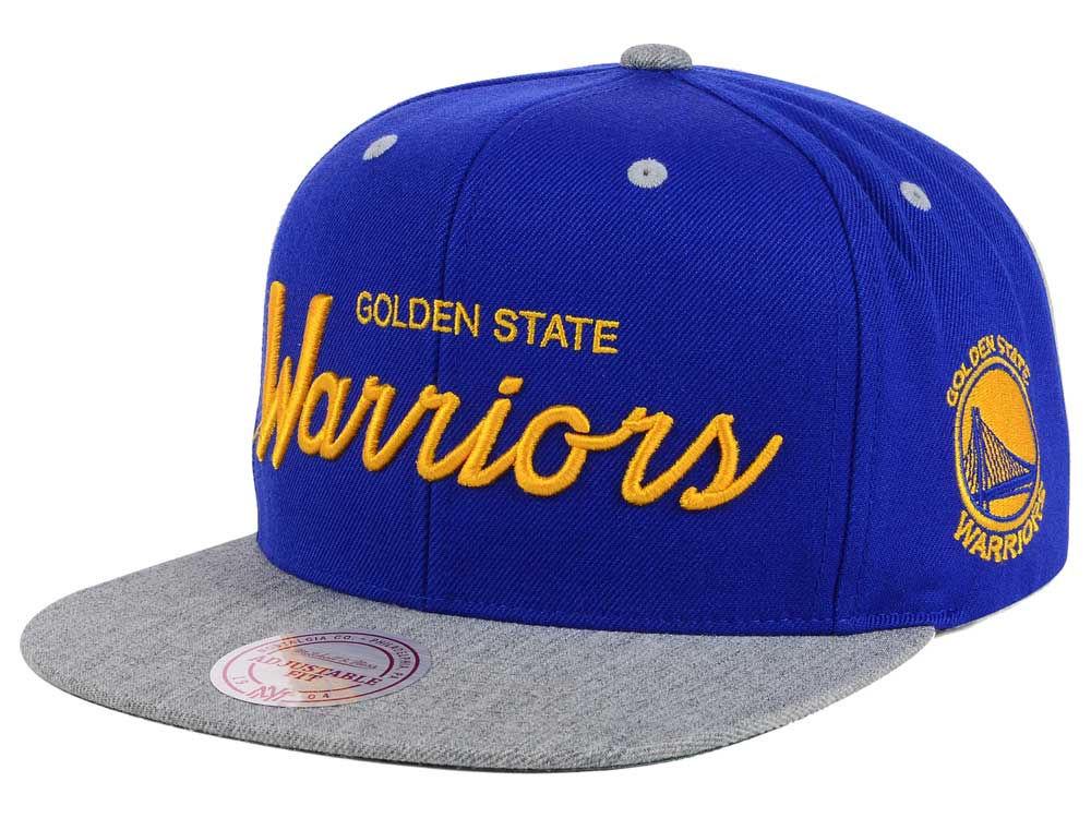 finest selection 281ff 1e2c6 ... good golden state warriors mitchell ness nba heather special script snapback  cap 1b5d9 dcd91