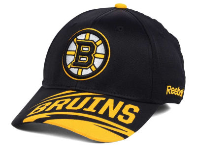 Boston Bruins Reebok NHL Left Wing Flex Cap